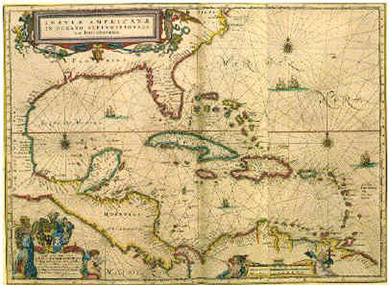 Authentic pirate maps.